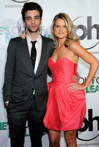 Jay Baruchel and Alice Eve at the Las Vegas premiere of