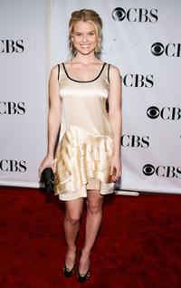 Alice Eve at the 62nd Annual Tony Awards.