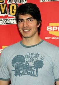 Brandon Routh at the 4th Annual Spike TV 2006 Video Game Awards.