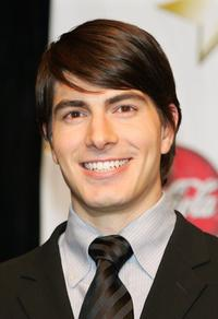 Brandon Routh at the ShoWest, the official convention of the National Association of Theatre Owners.