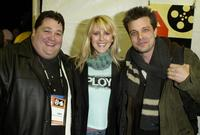 Jay Leggett, Andrea Bendewald and Mitch Rouse at the premiere of