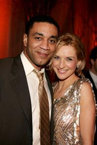 Harry J. Lennix and Ever Carradine at the 32nd Annual People's Choice Awards.