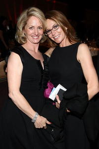 Melissa Leo and Diane Lane at the Hollywood Film Festival's Gala Ceremony.