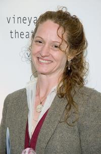 Melissa Leo at the benefit for the Vineyard Theater.