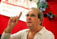 Danny Aiello at the book signing for the new cookbook