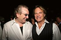 Danny Aiello and David Lee Roth at the Summer In The City Pool Party.