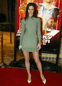 Juilttet Lewis at the premiere of