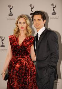 Stephanie March and Matthew Bomer at the 37th Annual International Emmy Awards.