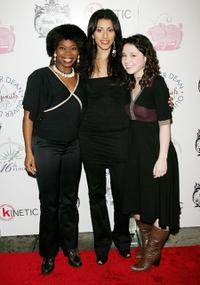Darlesia Cearcy, Reshma Shetty and Sarah Steele at the 2006 Snow Ball Children's Benefit.