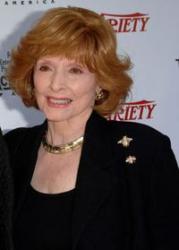 Patricia Barry at the 2005 Tony Awards Party and The Julie Harris Award.