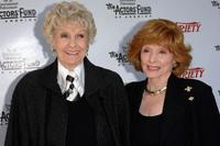 Patricia Barry and Elaine Stritch at The 2005 Tony Awards Party & 'The Julie Harris Award'.