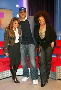 Janet Jackson, Tyler Perry and Jill Scott at the BET's 106 and Park.