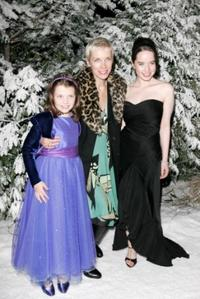 Georgie Henley, Annie Lennox and Anna Popplewell at the after party of the Royal Film Performance and world premiere of
