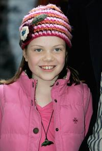 Georgie Henley at the 10th Anniversary of National Schools Film Week.