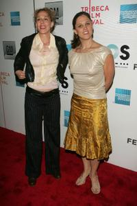 Producer Rachel Grady and Heidi Ewing at the opening night premiere of