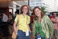 Rachel Grady and Heidi Ewing at the Silverdocs AFI/Discovery Channel Documentary Festival.