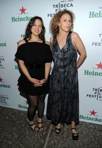 Heidi Ewing and director Rachel Grady at the Closing Night party for