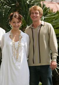 Tuva Novotny and Leo Gregory at the photocall and press conference of