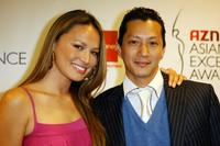 Moon Bloodgood and Will Yun Lee at the 2007 AZN Asian Excellence Awards.