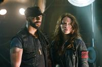 Common as Barnes and Moon Bloodgood as Blair Williams in