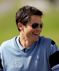 Rob Lowe at the All-Star Cup.