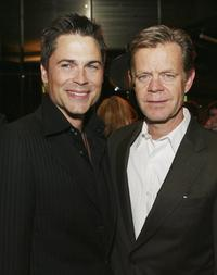 Rob Lowe and William H. Macy at the Premiere of