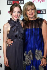 Saoirse Ronan and director Gillian Armstrong at the Australian premiere of