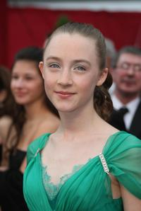 Saoirse Ronan at the 80th Annual Academy Awards.