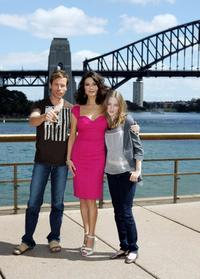 Guy Pearce, Catherine Zeta-Jones and Saoirse Ronan at the media call of