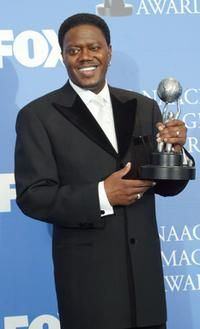 Bernie Mac at the 35th Annual NAACP Image Awards.