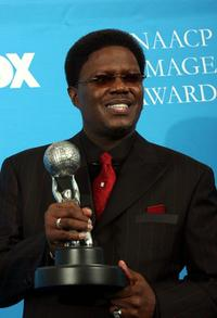 Bernie Mac at the 37th Annual NAACP Image Awards.