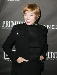 Shirley MacLaine at the 12th Annual Premiere Women in Hollywood award show.