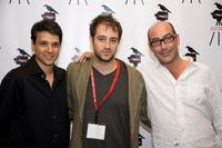 Ralph Macchio, Jordan Galland and John Ventimiglia at the screening of