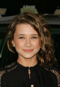 Olesya Rulin at the Chevy Rocks The Future.