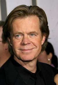 William H. Macy at the red carpet for the premiere of