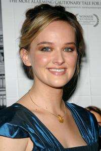 Jess Weixler at the premiere of
