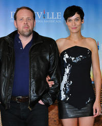 Gregory Gadebois and Clotilde Hesme at the photocall of