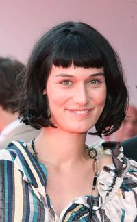 Clotilde Hesme at the premiere of