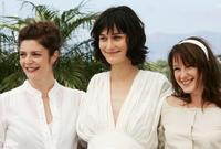 Chiara Mastroianni, Clotilde Hesme and Ludivine Sagnier at the photocall of