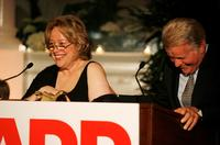 Kathy Bates and Martin Sheen at the Sixth Annual Movies For Grownups Awards.