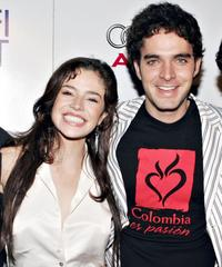 Flora Martinez and Manolo Cardona at the North American premiere of