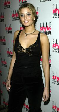 Holly Valance at the Elle Style Awards party.
