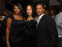 Jennifer Hudson, Director Gina Prince-Bythewood and Nate Parker at the premiere of