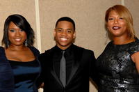 Jennifer Hudson, Tristan Wilds and Queen Latifah at the premiere of