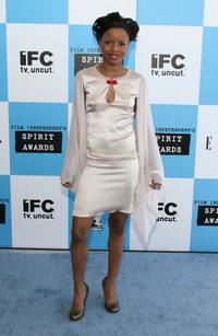 Shareeka Epps at the 22nd Annual Film Independent Spirit Awards.