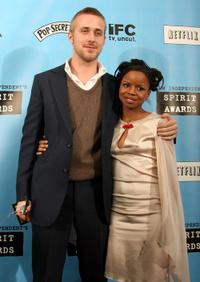 Ryan Gosling and Shareeka Epps at the 22nd Annual Film Independent Spirit Awards.