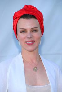 Debi Mazar at the P.S. Arts & Los Angeles Antique Show opening night preview party.