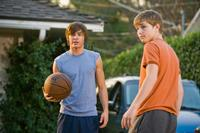 Zac Efron as Mike O'Donnell and Sterling Knight as Alex in