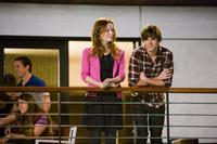 Leslie Mann as Scarlet and Zac Efron as Mike O'Donnell in