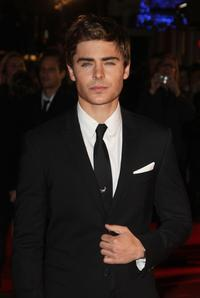 Zac Efron at the London premiere of